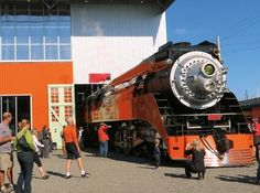 Oregon Rail Heritage Center - History Museums - See the small layout of three big steam locomotives and a selection of diesel locomotives in the Oregon Rail Heritage Center