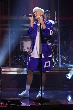 Olly Alexander of Years & Years performs on The Tonight Show with Jimmy Fallon, July 16, 2015