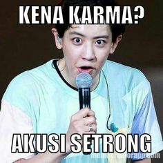 Memes Funny Faces, Funny Kpop Memes, Exo Memes, Cute Memes, Exo Stickers, K Meme, Relatable Meme, Cartoon Jokes, K Pop
