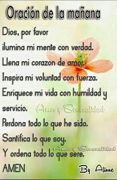 Oracion de la mañana !!!