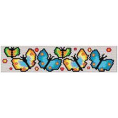 Butterfly Bracelet | Bead-Patterns.com