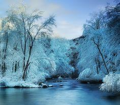 Connecticut scenic winterscape. Brrrr