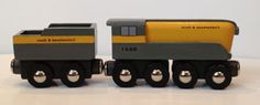 The purpose of this site is to share ideas about building your own wooden toy trains.