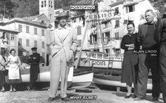 ALAN LADD. (1954) #Portofino #alanladd