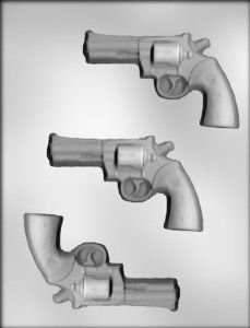 Revolver Chocolate Mold - Father's Day Gifts for Gun Nuts