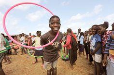 Mozambique Children Hoop For Joy: http://www.hooping.org/2012/08/mozambique-children-hoop-for-joy/