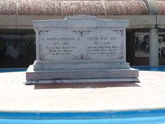 MLK Memorial site - worth visiting while in Atlanta.