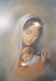 Maria and Jesús' Silent Night'🙏🏻 – Mother Mary – jesus Beautiful Fantasy Art, Beautiful Gif, Blessed Mother Mary, Blessed Virgin Mary, Christmas Scenes, Christmas Pictures, Mary Christmas, Christmas Jesus, Pictures Of Jesus Christ