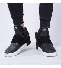 promo code 92594 461bf Adidas Tubular Invader Strap Men Shoes Core Black Core Black Utility Black  F16 Bb8392 Outlet