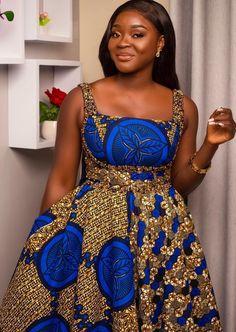 African Fashion Ankara, Latest African Fashion Dresses, African Dresses For Women, African Print Fashion, African Attire, African Print Dress Designs, African Print Dresses, Ankara Dress, Ankara Styles