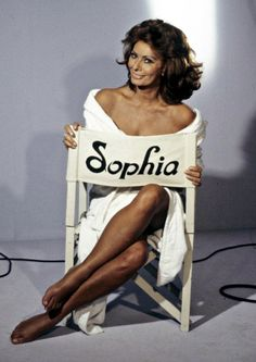 Sophia Loren....
