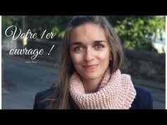 TUTO TRICOT DÉBUTANT (DIY) - VOTRE PREMIÈRE ECHARPE - YouTube