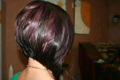 Color!!!  And when I cut my hair and straighten it!