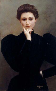 1894........LA MÉDITATION..............PARTAGE DE LE PEINTRE JEAN BERAUD...........SUR FACEBOOK................