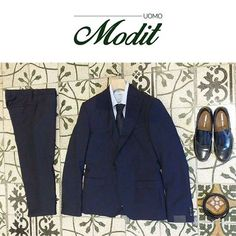 Modit uomo | OUTFIT  ▹Alessandro Dell'Acqua [abito] ▹Massimo La Porta [camicia] ▹Orciani [cintura] ▹Tonello [cravatta]