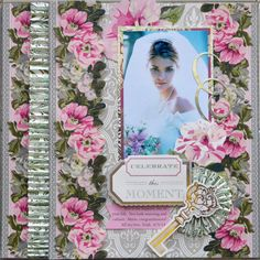 Anna Griffin Scrapbook Page Layouts   ... with minimum effort on both scrapbook pages and cards you can purchase