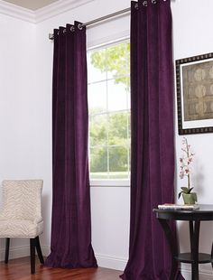 Plum Curtains for Bedroom. 20 Plum Curtains for Bedroom. Love the Length is is A Half Price Drapes Website Blackout Curtains Bedroom, Home, Bedroom Makeover, Home Bedroom, Plum Curtains, Half Price Drapes, Apartment Decor, Bedroom Decor, New Room