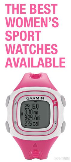 Stay on track with these women's sports watches.
