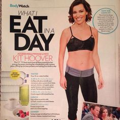 SELF mag - Kit Hoover - mdg Access Hollywood, Keeping Healthy, Keep Fit, Fitness Nutrition, Metabolism, Push Up, Health And Wellness, Exercises, Muscle