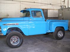 1958 Chevy Apache Pick-up restored by O'Hara Restorations in Frostproof, Florida.