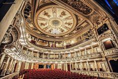 Opera and Ballet building @ Ljubljana, Slovenia, Europe