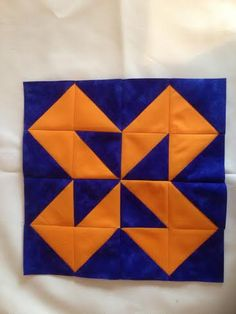Half-square triangle quilt challenge!