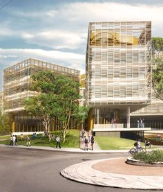 Proposed University of Sydney Business School by Woods Bagot Architects