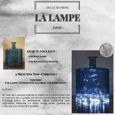 ENVIE DIY - Lampe jarre Diy Lampe, Mindfulness, Envy, Consciousness