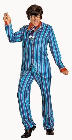 Groovy Baby Costume Austin Powers Fancy Dress Outfit