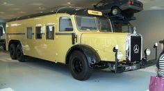 Vintage Mercedes-Benz Bus: