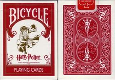 RARE Bicycle Harry Potter Playing Card Decks W/3 Jokers on eBay!