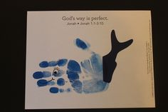 "Example: ""Handprint Whale"" - Week 3 - 2s"
