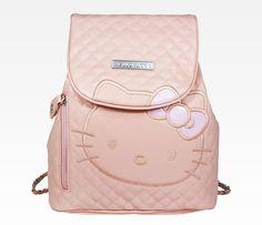 Warm Pink Hello Kitty Mini Backpack So Cute! Hello Kitty Handbags, Hello Kitty Backpacks, Hello Kitty Purse, Pink Hello Kitty, Here Kitty Kitty, Hello Kitty Stuff, Hello Kitty Merchandise, Mochila Adidas, Hello Kitty Themes
