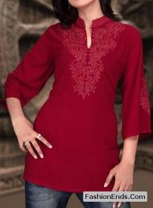 Latest Indian Casual Kurtis For Jeans Kurti With Jeans, Hippie Style, My Style, Printed Kurti, Fashion Tag, Get Dressed, Indian Fashion, Tunic Tops, Kurtis