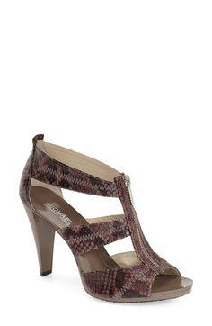 MICHAEL Michael Kors 'Berkley' T-Strap Sandal (Women) available at #Nordstrom