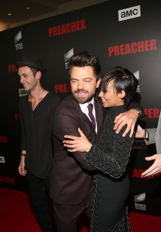Celebrity Gossip & News | Preacher's Dominic Cooper and Ruth Negga Have a Far More Traditional Relationship Off Screen | POPSUGAR Celebrity UK Photo 8