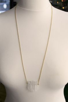 Image of Crystal shard necklace