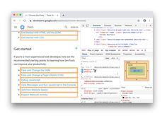 Highlight nodes affected by a CSS property, Lighthouse WebSocket binary message viewer, and more. Web Google, Technical Writer, Stack Overflow, Rss Feed, Whats New, Get Started, Chrome, Messages