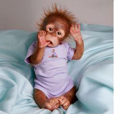 RISA Orangutan MONKEY Doll