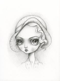 """Bette by Lauren Saxton for Swoon Gallery's """"Muses"""" show."""