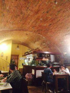 Converted grain room in Montepulciano, Italy