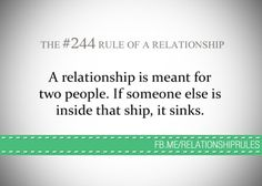 Two people, not three!