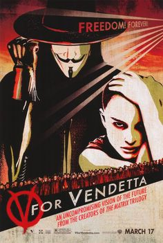 V for Vendetta 11x17 Movie Poster (2006)