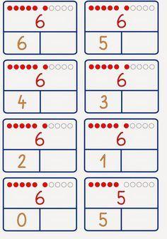 Numbers Kindergarten, Numbers Preschool, Kindergarten Math Worksheets, Preschool Math, Teaching Math, Math Activities, Mental Maths Worksheets, Printable Preschool Worksheets, Math Sheets