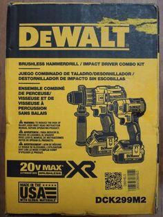 DIY  Tools Brushless Dewalt Combo