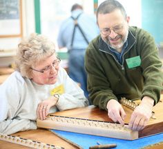 Building a Hammered Dulcimer with Jeff Sebens at the John C. Campbell Folk School, Brasstown, NC | folkschool.org