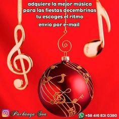 @pachangason Adquiere la mejor música para #Navidad #Diciembre escríbenos al whatsapp 58 416-831-03-80 #regrann