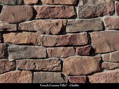 French Country Villa Stone Veneer / Chablis