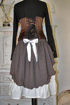 jupe steampunk
