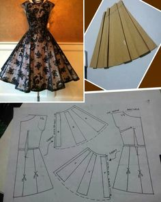 Diy Ropa Mujer Fashion Ideas Ideas For 2019 Sewing Art Sewing Tools Sewing Tutorials Sewing Hacks Sewing Patterns Sewing Projects Sewing Techniques Techniques Couture Learn To Sew Dress pattern cut out Great swing dress DIY - would add a curve to the bodi Sewing Clothes Women, Barbie Clothes, Diy Clothes, Clothes For Women, Dress Clothes, Fashion Sewing, Diy Fashion, Ideias Fashion, Skirt Patterns Sewing